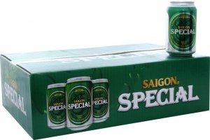 Bia Sài Gòn lon