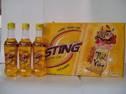 Sting vàng 330ml (chai nhựa)