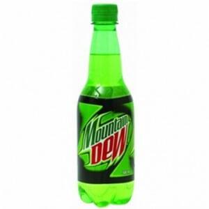 MT Dew chai thủy tinh