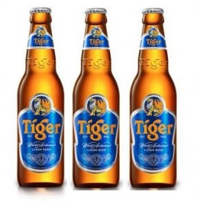 Bia Tiger chai 500ml