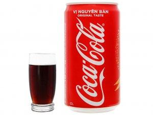 Công dụng của Coca Cola lon