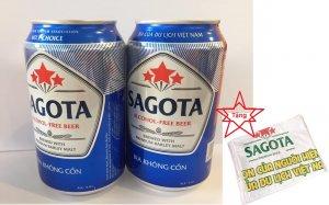 Bia SAGOTA không cồn 330ml