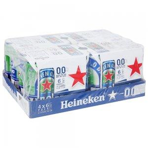 Bia Heineken 0 Độ Cồn (lon)