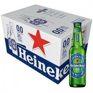 Bia Heineken 0 Cồn (chai thủy tinh)