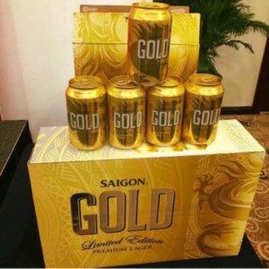 Bia Sài Gòn Gold (lon)