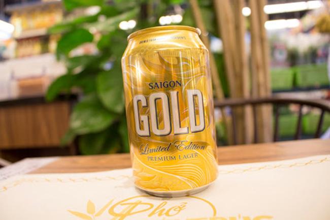 Thông tin sản phẩm bia Sài Gòn Gold