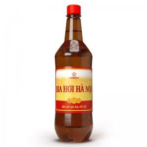Bia Hơi Hà Nội 1 lít (chai nhựa)