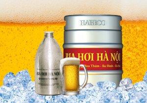 Bia hơi Hà Nội đóng lon
